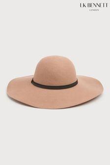 L.K.Bennett Kendall Camel Hat