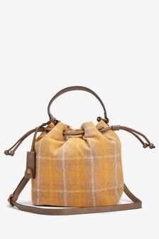 Check Bucket Bag