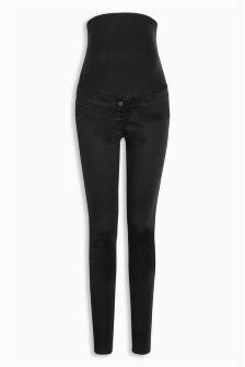 Maternity Skinny Over The Bump Denim Jeans