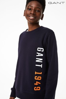 GANT Teen Boys Colour Crew Neck Sweater