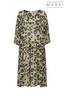 Masai Camel Neoma Dress
