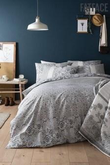 FatFace Cotton Mosaic Duvet Cover and Pillowcase Set