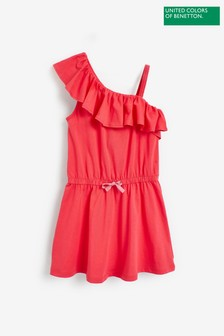 Benetton Ruffle Dress