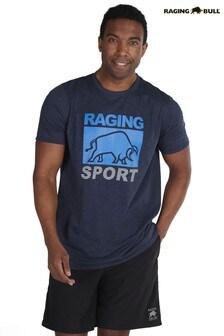 Raging Bull Blue Casual T-Shirt