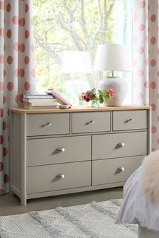 Hanley 7 Drawer Wide Chest