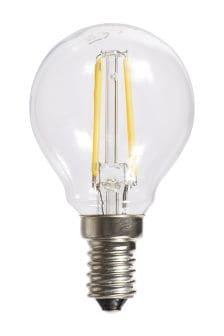 4W SES LED Golf Ball Bulb