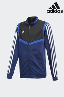 adidas Blue Tiro 19 Jacket