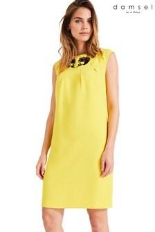 Damsel In A Dress Yellow Kleo Beaded Dress