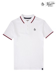 Original Penguin Contrast Tipping Polo Shirt