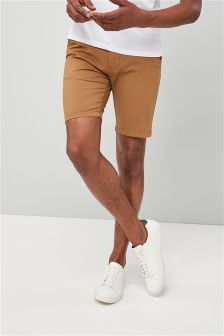 Slim Stretch Chino Shorts