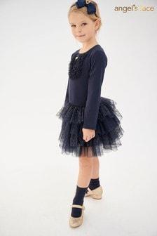 Angel's Face Navy Dress