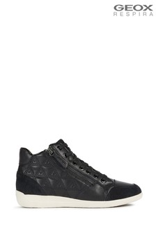 Geox Womens Myria Black Trainers
