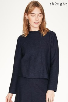 Thought Blue Viola Top
