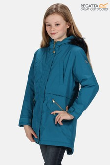 Regatta Blue Honoria Waterproof Parka