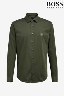 BOSS Green Mypop Poplin Logo Shirt