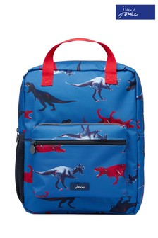 Joules Blue Easton Printed Backpack