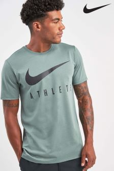 Nike Gym Green Athlete T-Shirt