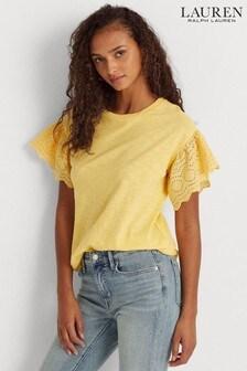 Lauren Ralph Lauren® Ruffle Sleeve Dawan T-Shirt