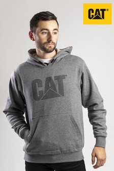 CAT® Grey Trademark Lined Hoody