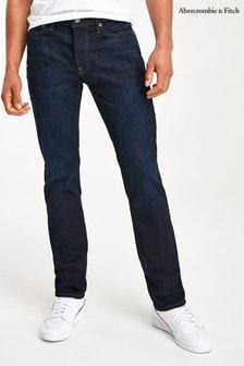 جينز تلبيس رشيق أزرق منAbercrombie & Fitch