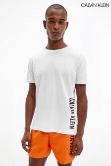 Calvin Klein White Intense Power Swim Crew T-Shirt