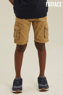 FatFace Natural Lulworth Cargo Shorts