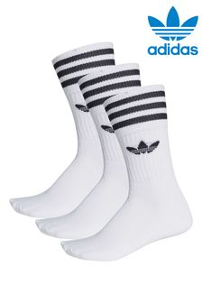 adidas Originals Trefoil Crew 3 Pack Socks