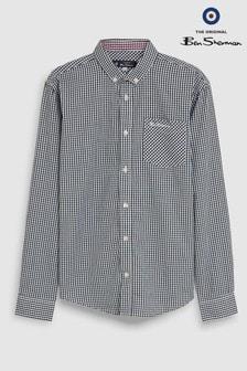 Классическая рубашка в клетку Ben Sherman