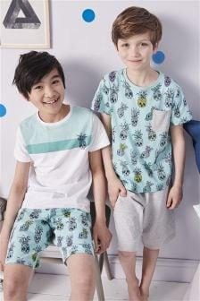 Pineapple Pyjamas Two Pack (3-16yrs)