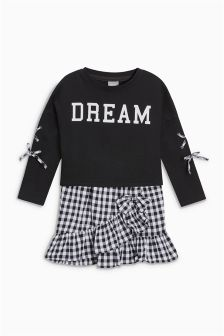 Slogan Sweater And Dress Set (3-16yrs)