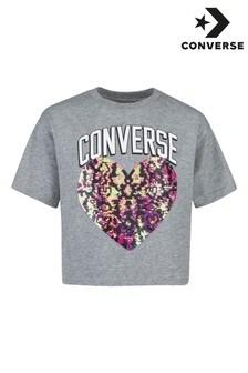 Converse Sequin Older Girls T-Shirt