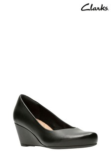 Clarks Black Flores Tulip Shoes