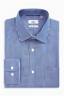 Stripe Regular Fit Shirt With Pocket
