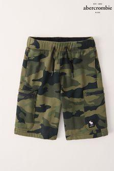 Abercrombie & Fitch Tie Waist Utility Shorts