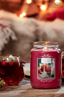 Yankee Candle Large Pomegranate & Gin Fizz Candle
