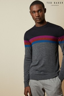 Ted Baker Navy/Black Knitted Jumper