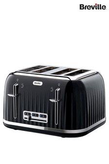 Breville Impressions Black 4 Slot Toaster