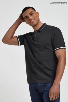 Emporio Armani Logo Collar Polo