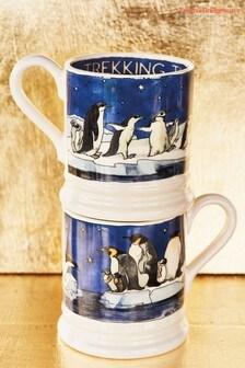 Emma Bridgewater Winter Penguins Half Pint Mug