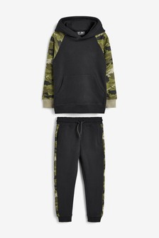 Camo Hoody And Joggers Set (3-16yrs)