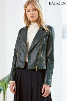 Baukjen Green Everyday Biker Jacket