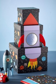 Rocket Stacking Gift Boxes