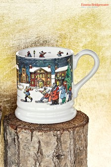 Emma Bridgewater Year In The Country Winter Scene Half Pint Mug