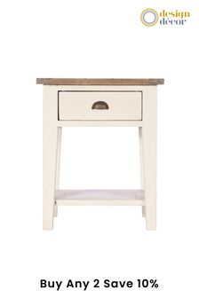 Cotswolds Lamp Table by Design Décor