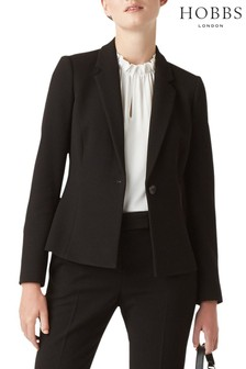 Hobbs Black Anne Jacket