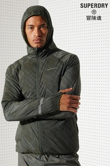 Superdry Run Lightweight Wind Shell Jacket