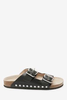 Buckle Corkbed Sandals (Older)