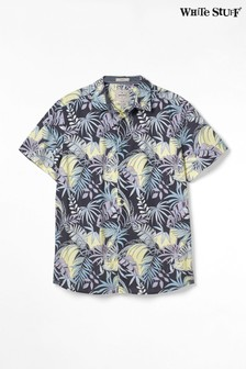 White Stuff Grey Flotta Print Shirt