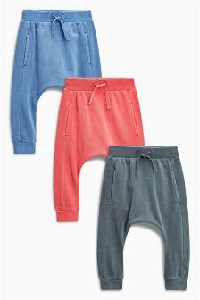 Super Skinny Joggers Three Pack (3mths-6yrs)