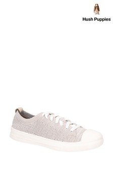 Hush Puppies Brown Schnoodle Lace-Up Summer Shoes